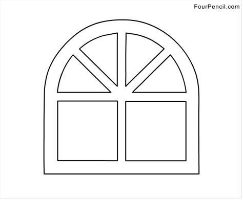 imagenes para colorear ventana ventana 19 objetos p 225 ginas para colorear
