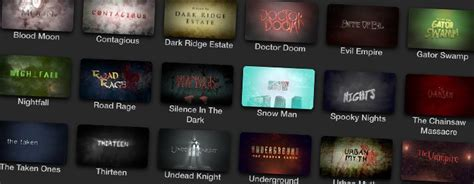 Protrailer Horror Pixel Film Studios Cut Pro Intro Templates