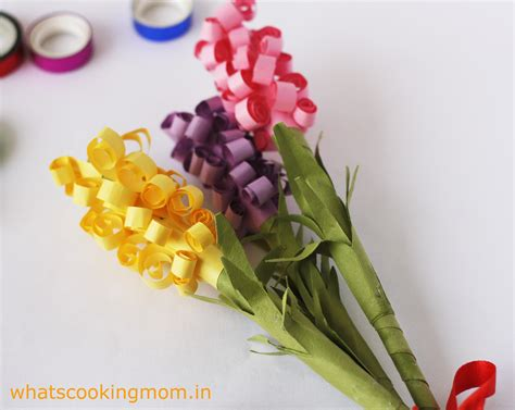 Crafting Paper Flowers - some craft activity whats cooking