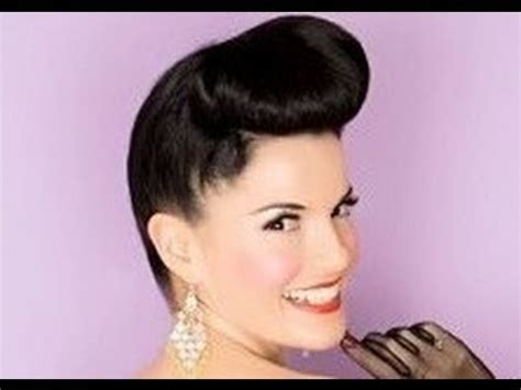 1950 Pin Up Hairstyles by Pin Up Hairstyle 1950 S Hairstyle Inspired By