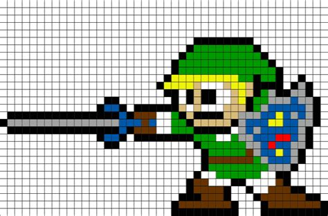 Link Sword Zelda Pixel Art ? BRIK