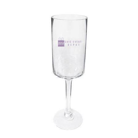 cylinder pedestal clear glass chic events depot