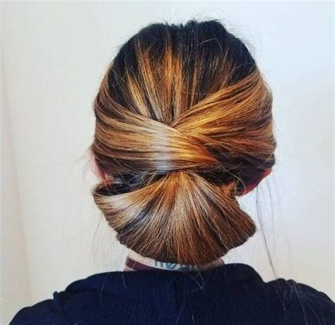 soft updo fine medium hair with bangs 60 easy updos for medium length hair