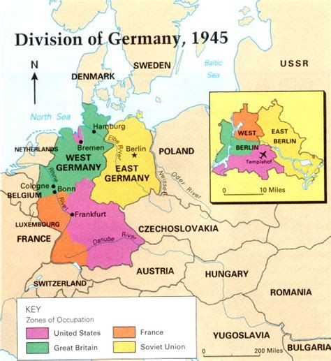 map of east germany map of east and west germany with a seprate map for berlin
