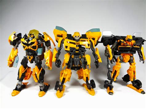 Transformers Deluxe Exclusive Canister Bumblebee rainformers s review transformers age of extinction aoe toys r us exclusive bumblebee