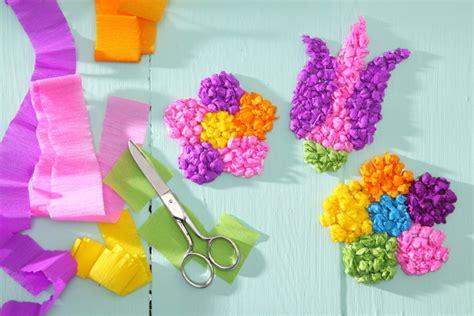 Bastelideen Blumen Kindergarten by Bastelanleitung F 252 R Zauberhafte Blumen Tambini