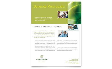 templates for flyers microsoft publisher internet marketing flyer template word publisher