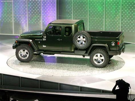 jeep truck concept 2005 jeep gladiator concept photo gallery autoblog
