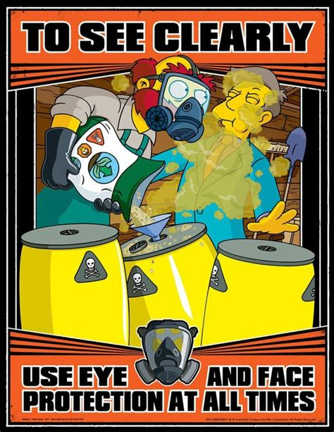 The Meme Machine Pdf - the simpsons giving crucial work safety lessons