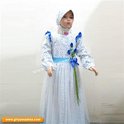 Cr760 Uk 8 11 Baju Pesta Anak Perempuan Dress Gaun baju muslim anak perempuan koleksi 5 madina griya busana muslim busana muslim baju muslim