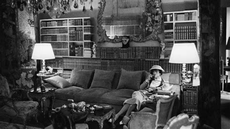 coco chanel couch chanel receiving the rothschilds by vb com