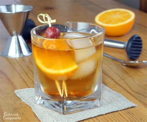 old fashioned cocktail garnish wisconsin brandy old fashioned curious cuisiniere