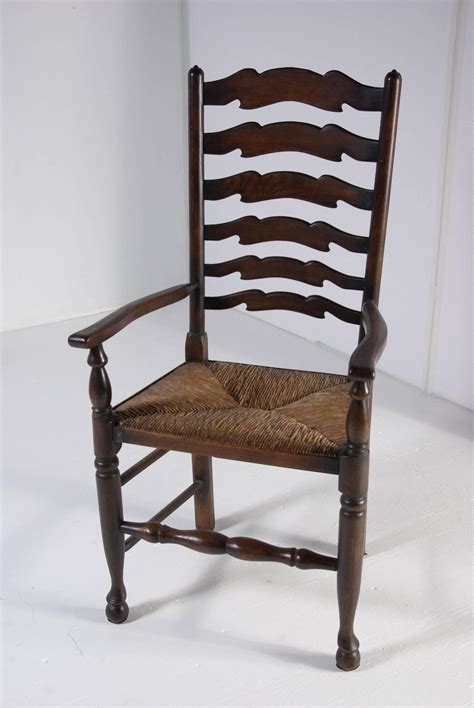 ladder back dining room chairs set of eight antique ladder back oak dining chairs all