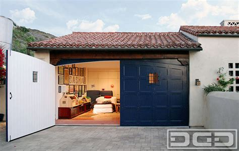 spanish style garage carriage doors in a spanish colonial style with decorative