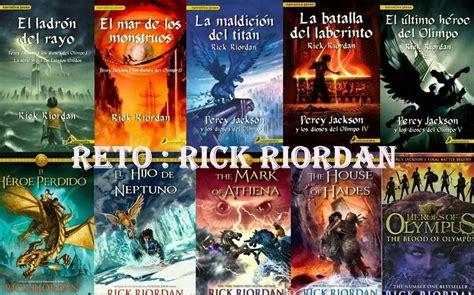 libro la saga de los libros de las saga percy jackson y los h 233 roes del olimpo 2 100 en mercado libre