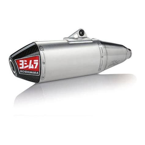 Yoshimura Japan Stainless 250 Series yoshimura rs 4 slip on exhaust kawasaki kx250f 2017 2018 revzilla