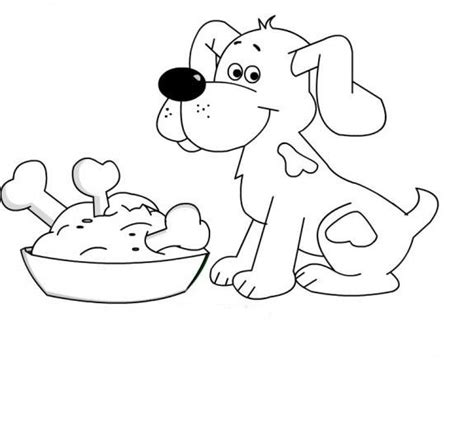 puppy dog coloring pages crafts