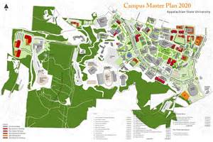 Appalachian State Campus Map by Appalachian Campus