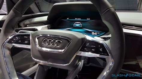 Mirror Shapes audi e tron quattro concept exclusive first look inside