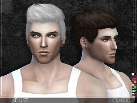 s club ts3 hair n9m sims 4 cc mens hair stealthic like lust male hair