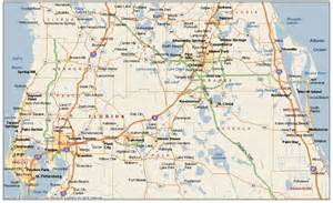 central map of towns map of central florida map2