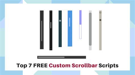 scrollbar ui pattern top 7 free custom scrollbar scripts javascript and jquery