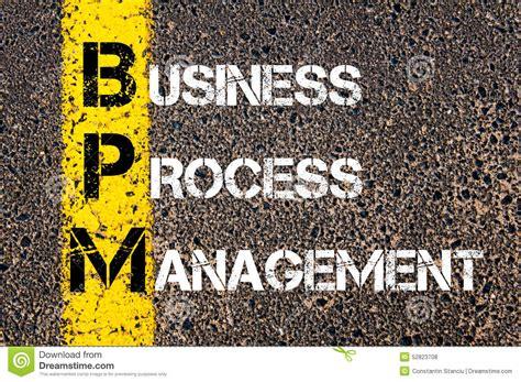 di commercio abbreviazione acronimo bpm gestione di processo aziendale fotografia