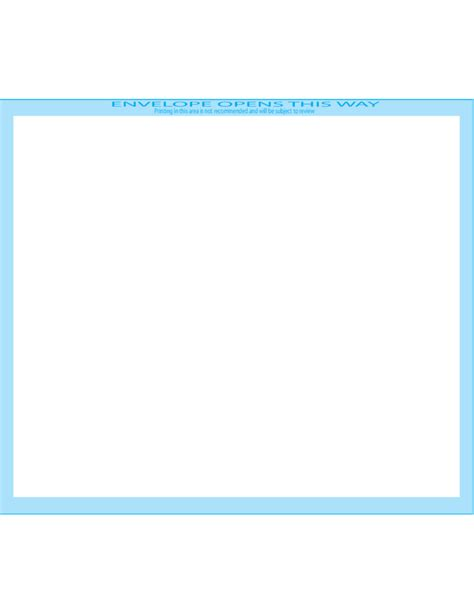 booklet envelope template booklet envelopes 6 x 9 front free