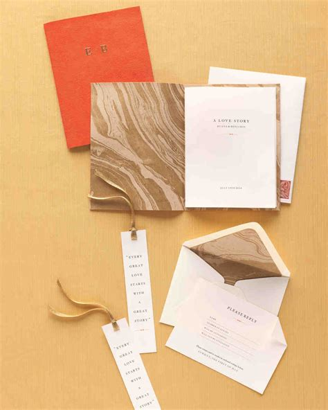 how to put together wedding invitations martha stewart 24 marbled wedding ideas martha stewart weddings