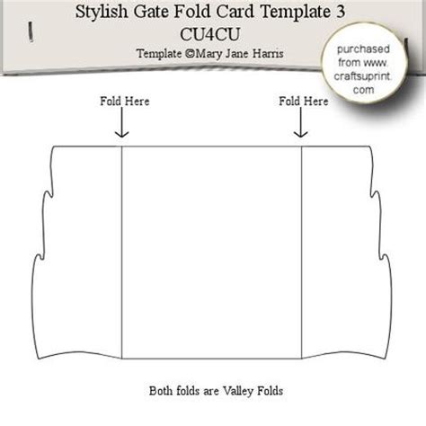 gate fold single card template stylish gate fold card template 3 cup289340 99