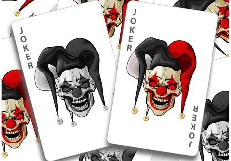 joker card template choice image templates design ideas
