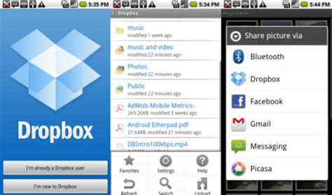 dropbox mobile 5 most popular android apps of 2012 softwaredudo free