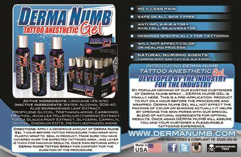 Tattoo Goo Derma Numb | derma numb tattoo anesthetic gel from diversified rockstar