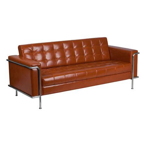 eurway sofa modern sofas lisa cognac sofa eurway modern