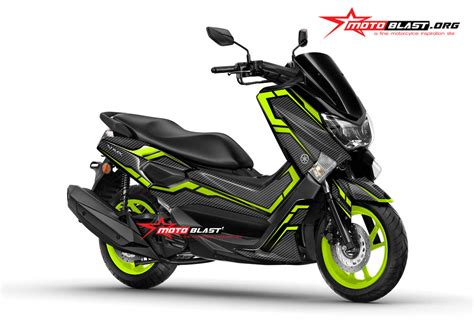 Kaos Otomotif Motor Yamaha Nmax Siluet Ts Kaos Baju Fashion Pria modifikasi striping nmax 155 hitam terbaru