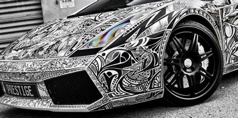 sharpie lamborghini artist lamborghini gallardo car with sharpie sketch vinyl