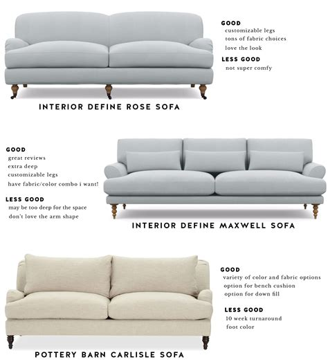 interior define sofa reviews review pottery barn carlisle sofa okaycreations net