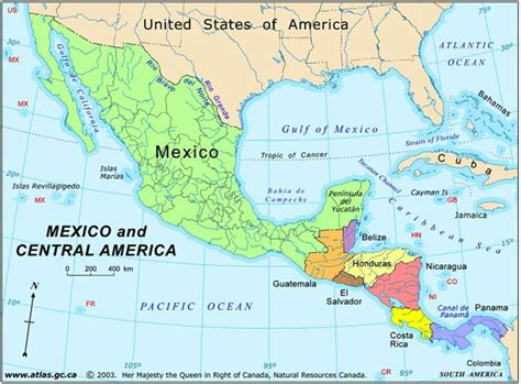 map of mexico and america america map map pictures
