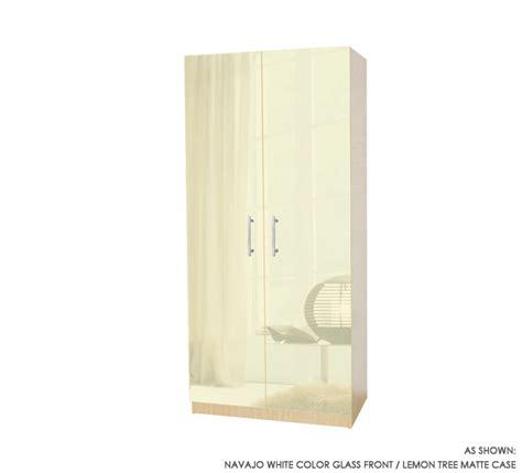 2 Door Wardrobe Closet Wardrobe Closet W 2 Doors Item 1135