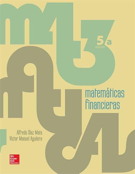 imagenes de matematica finaciera matem 225 ticas financieras 5ta edici 243 n en pdf libros gratis