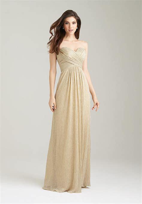 Gold Bridesmaid Dress by Gold Bridesmaid Dress Sang Maestro
