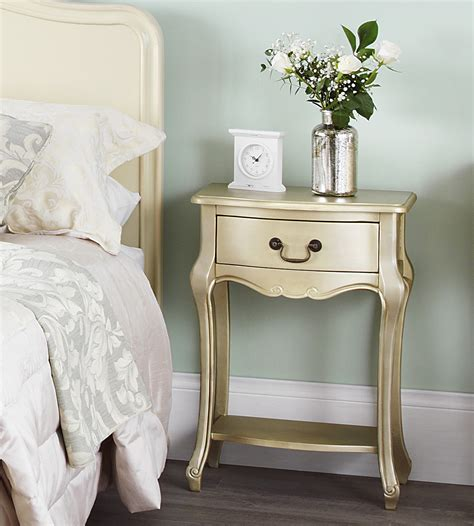 gold bedside table juliette gold bedside table fully assembled stunning