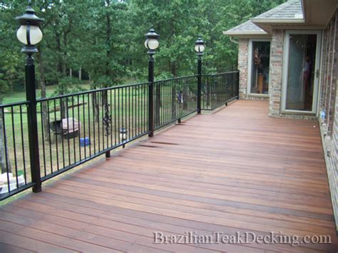 brazilian teak decking photo gallery