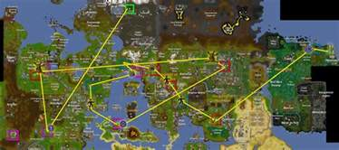 Runescape Fruit Tree Patches - a map of my farm run that might help other people with
