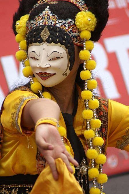 Topeng Tari 1 tari topeng traditional traditional
