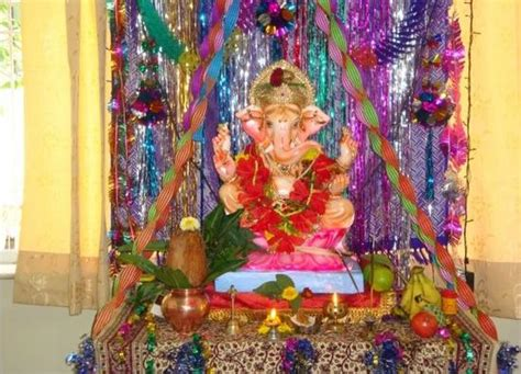 How To Decorate A Temple At Home by Ganesh Chaturthi Decoration Ideas For Home Mandap