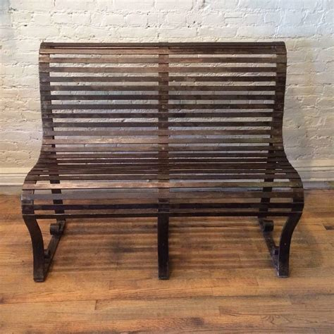 wrought iron benches for sale late 19th century victorian wrought iron park bench for
