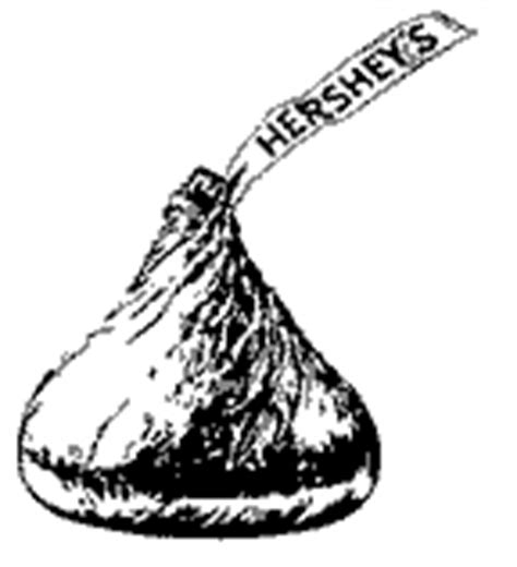 hershey kiss coloring page printable coloring pages