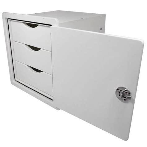 3 Drawer Storage Unit by Teak Isle Three Drawer Storage Unit 13770 51051