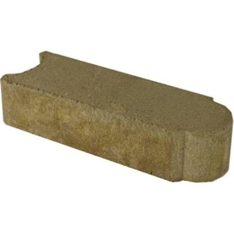 edgestone 1 ft concrete edging 14200520 the home depot